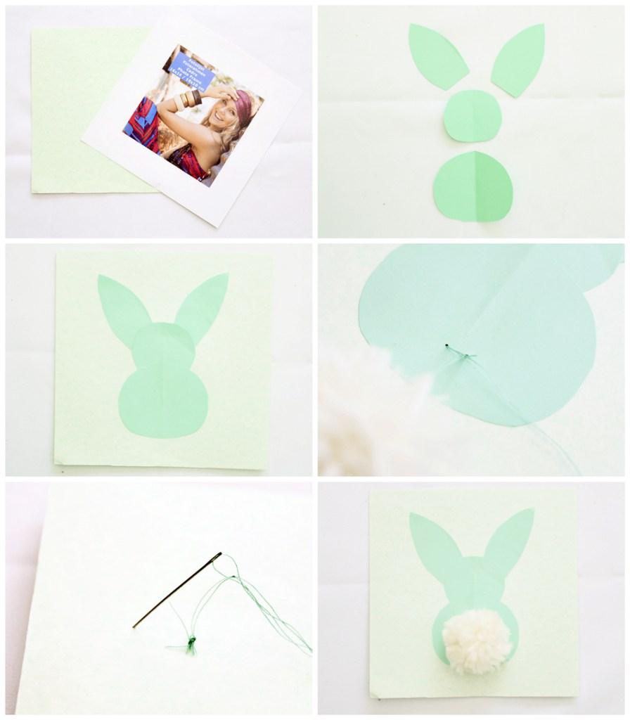 Paas-DIY | fluffy bunny