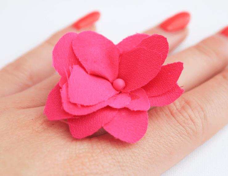 DIY | bloemenring