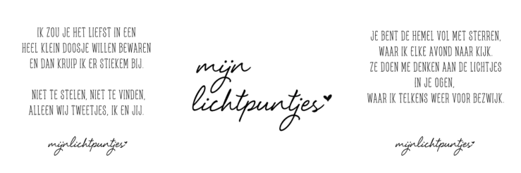 Nieuw leven @ MijnLichtpuntjes.nl