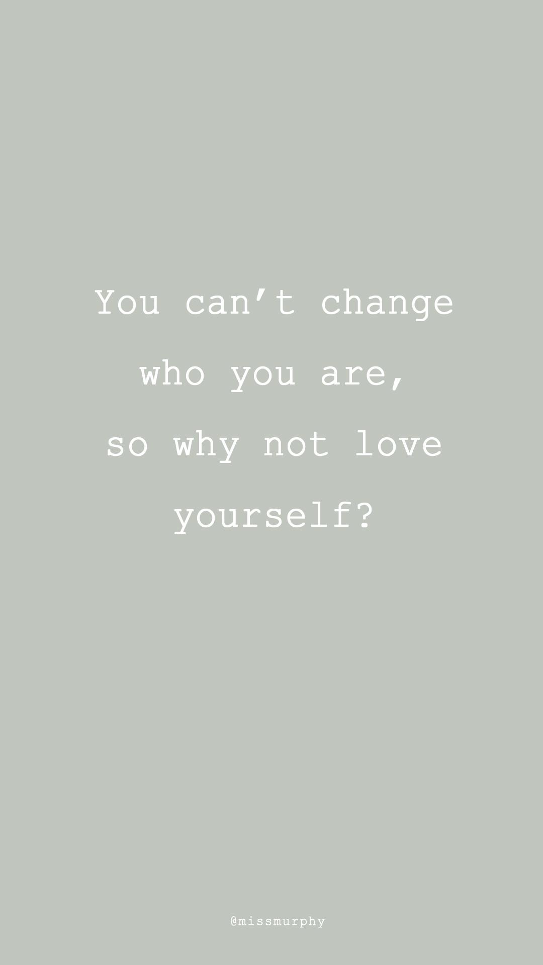 leren van jezelf te houden