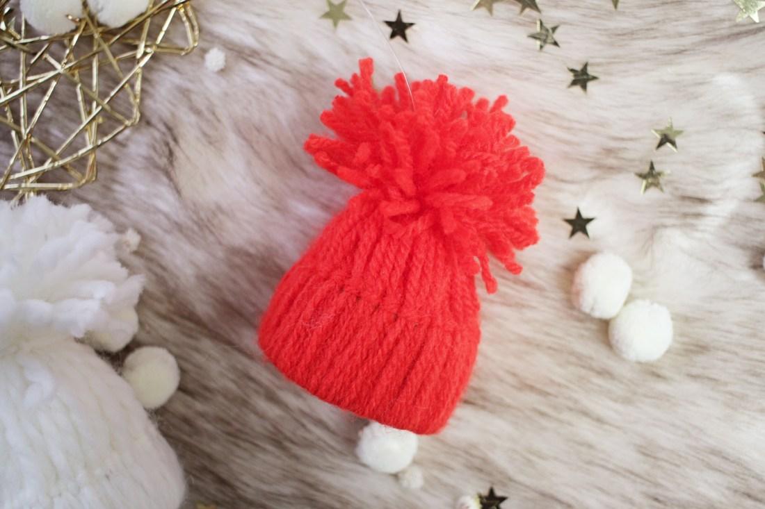 Kleine mutsjes maken voor in de kerstboom