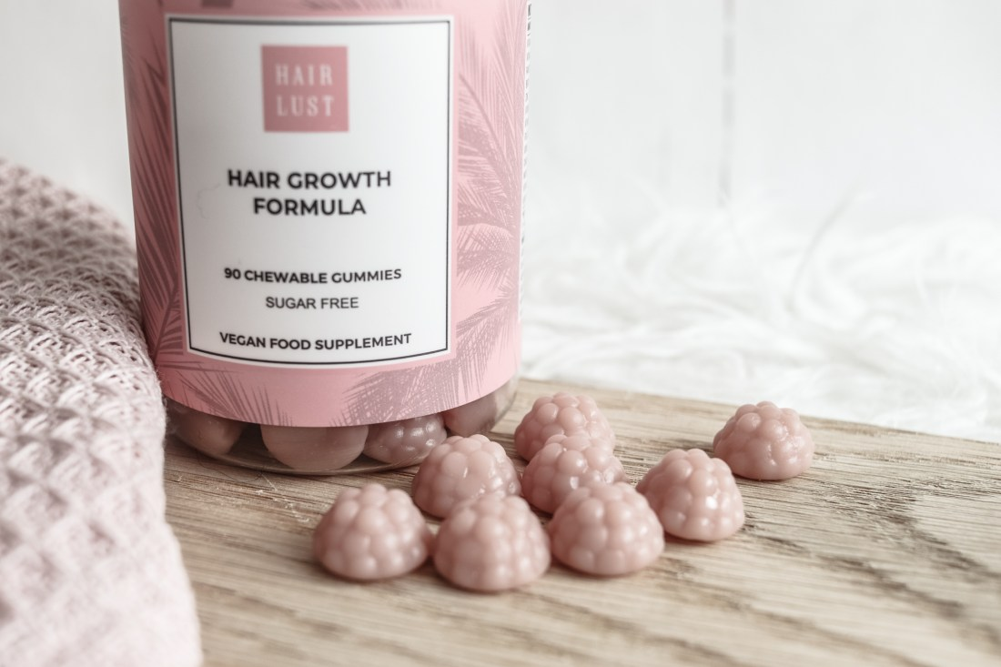 HairLust Hair Growth Formula Gummies