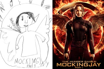 hunger games mockingjay by phoenix