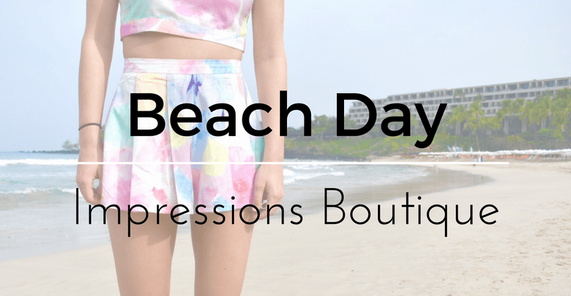 A Day at Mauna Lea Beach Feat. Impressions Boutique