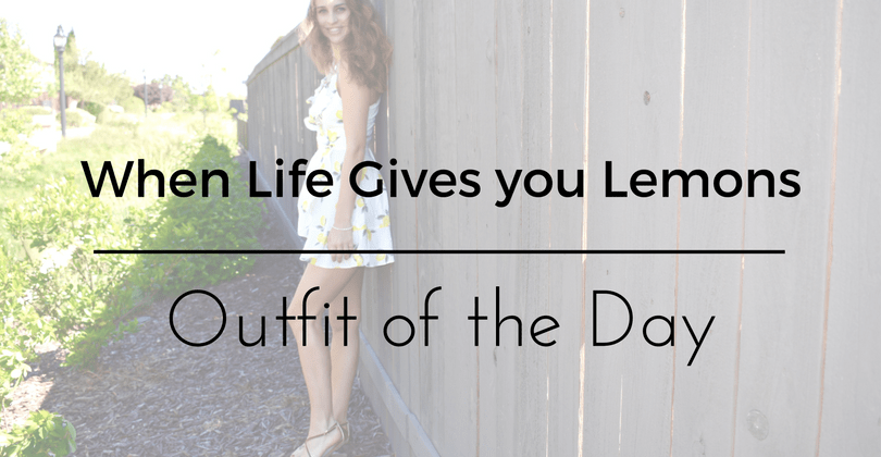 When Life Gives You Lemons Outfit of the Day – Forever 21