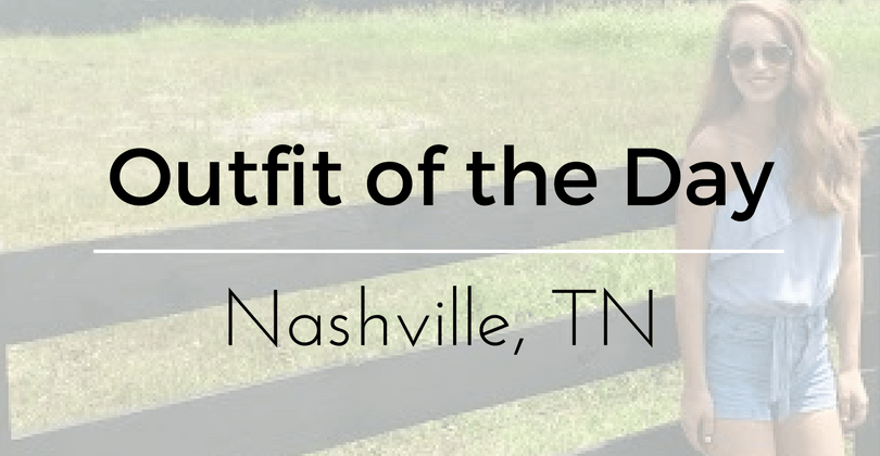 Outfit of the Day: Nashville