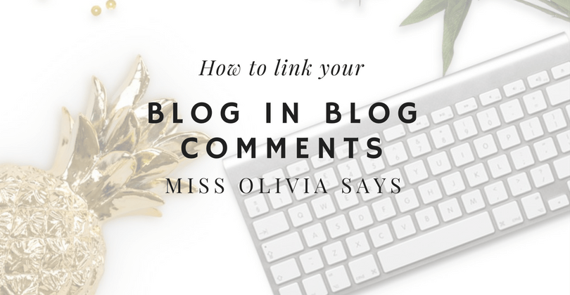 How to Link your Blog in Blog Comments
