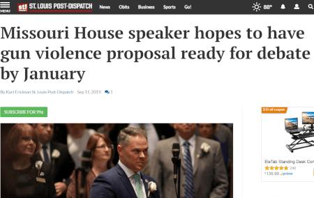 Speaker Haahr Caving Under the Pressure – Take Action!