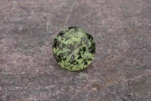 Unheated Green Montana Sapphire