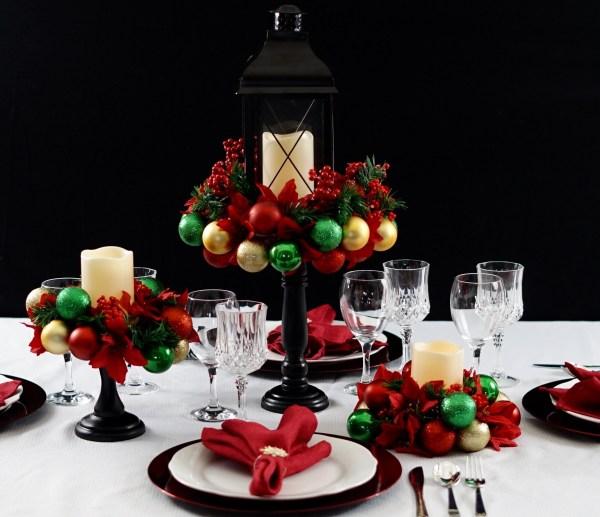 Easy Diy Christmas Ornament Centerpiece Perfect