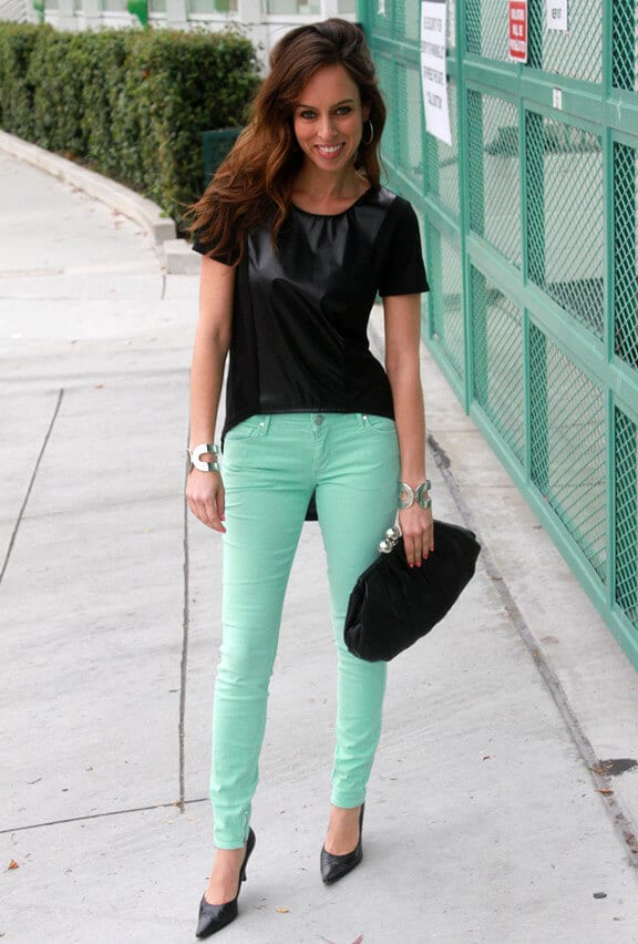 5. www.sydnestyle.com  - 6 Shades of Green: How to Wear Green Pants to Create Stylish Outfits