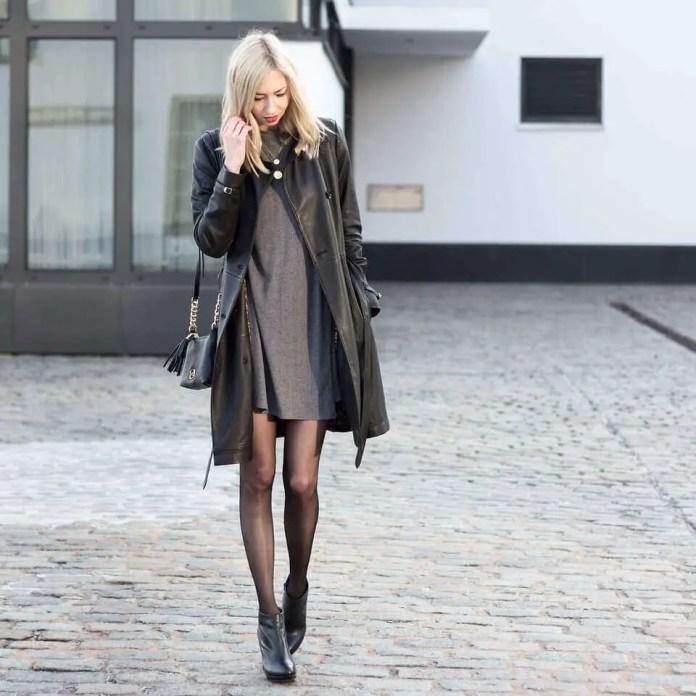 Black Pantyhose 6 - 10 Eye-Catching Ideas to Wear a Black Pantyhose Like a Pro