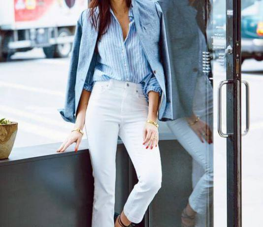 4cf31dc78e 18 Best White Jeans Outfit Ideas for Men and Women - Miss Prettypink