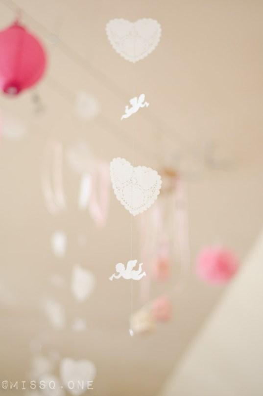 Engel, hjerte, perle