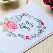 "MissQ kort ""With love"""