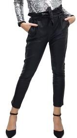 Παντελόνι Δερματίνη με ζώνη - MissReina - FW18GAL-38740