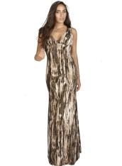 OEM Μάξι Φόρεμα Αέρινο Φόρεμα Jungle Prints - OEM - A16LV-53142430 2018