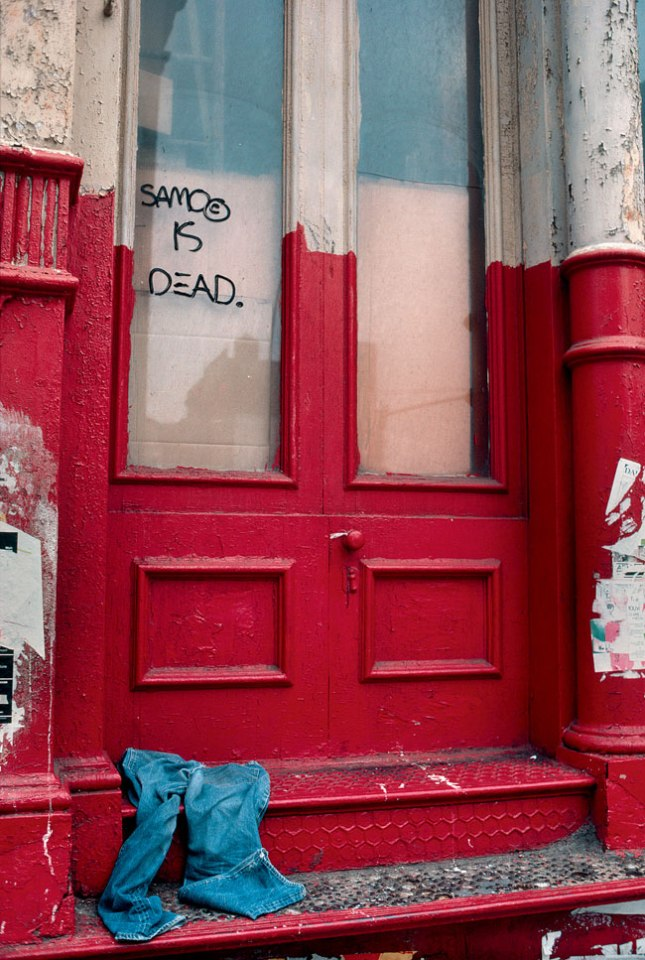 SAMO IS DEAD, New York, NY, 1981. Photograph by Robert Herman. NYC 1981. Photography. Photo Books. Webby Award Nomination. Journalism. Interview. Essay. Photodocumentary. Documentary Studies. New Yorkers.