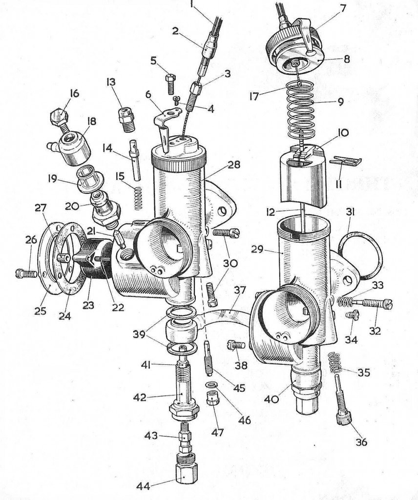 Step 1 to Starting the Bike: The Carb