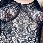 bodystocking boobs