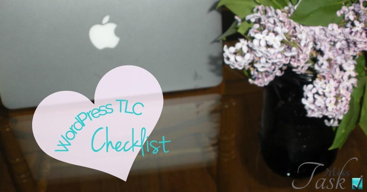 Miss Task   WordPress TLC Checklist Download Image