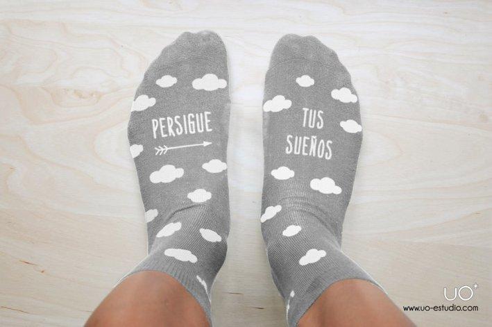 Calcetines divertidos Uo Diseño