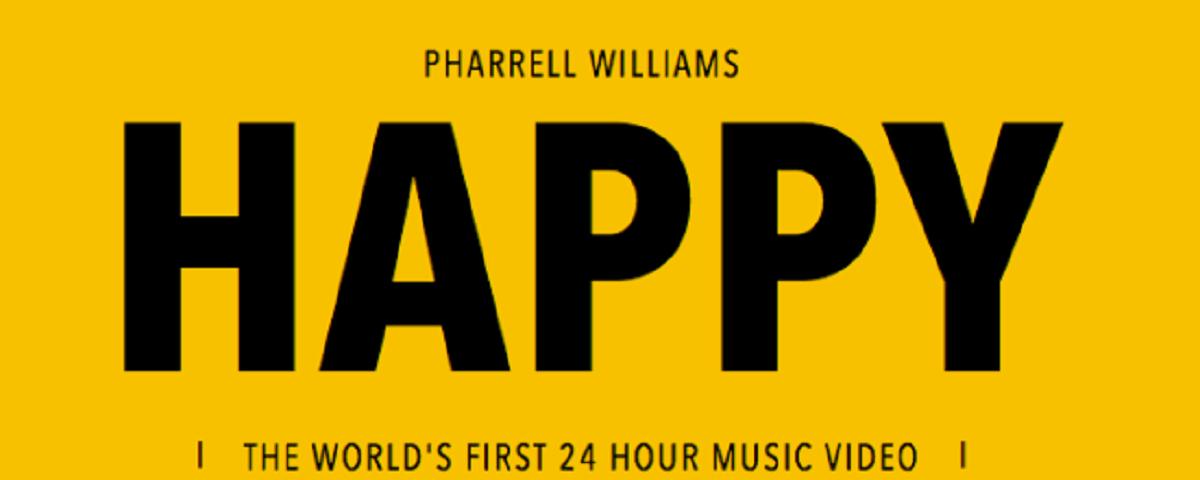 Pharrell Williams lanza Happy, un videoclip interactivo de 24 horas