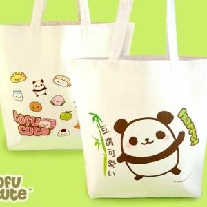Tote Bag Kawaii Panda