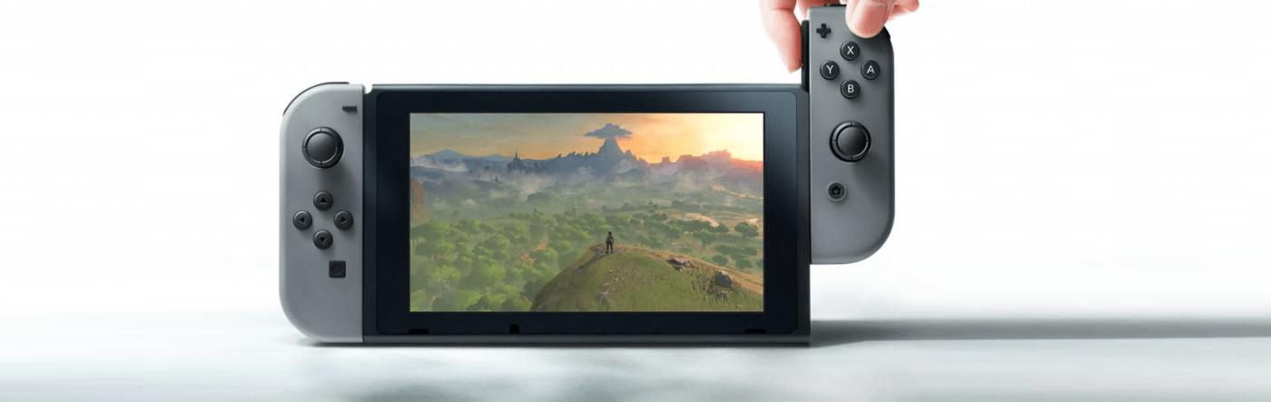 Nintendo Switch y gameplay trailers de Zelda: Breath Of The Wild