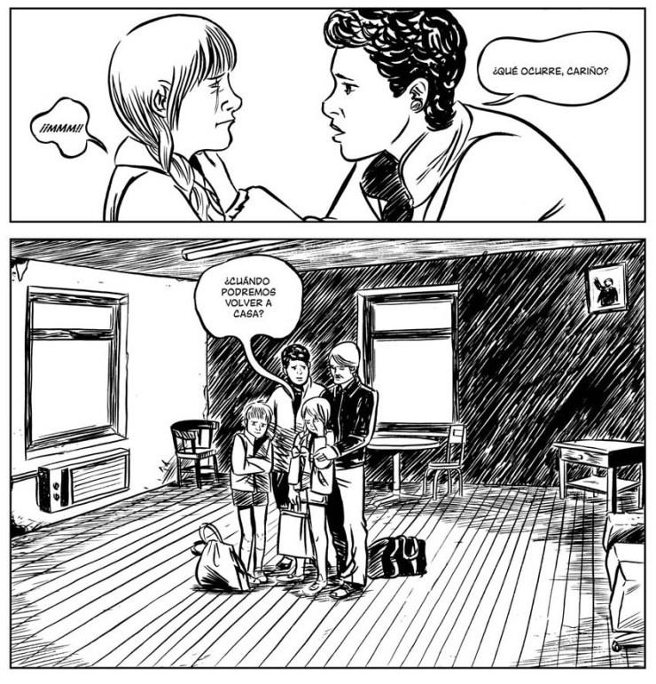 chernobil la zona comic