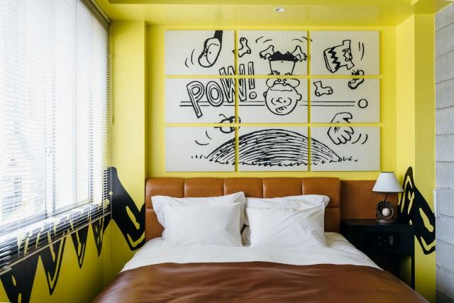 Peanuts Hotel, un hotel temático de Snoopy en Japón