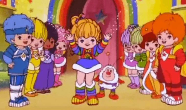 dibujos animados rainbow brite