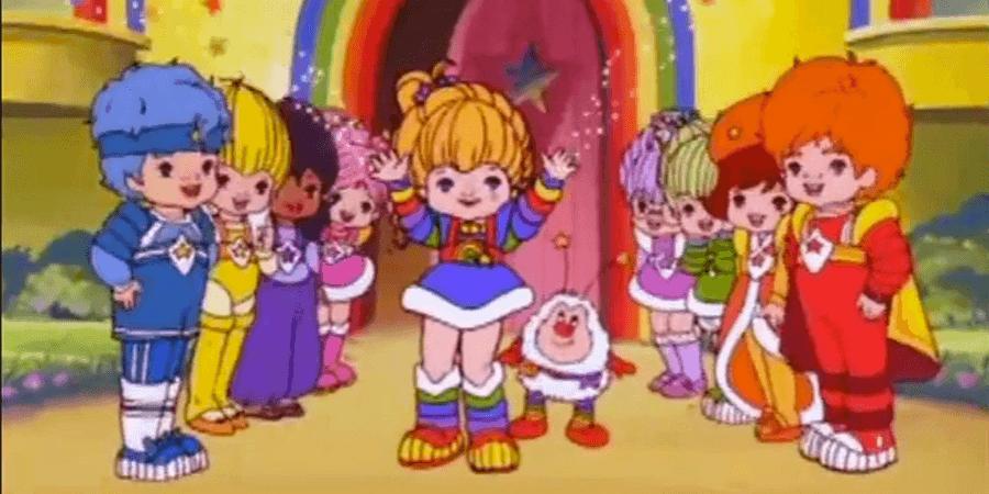 Todo sobre la serie de dibujos de Rainbow Brite