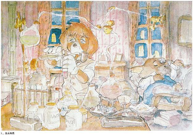 sherlock holmes anime miyazaki