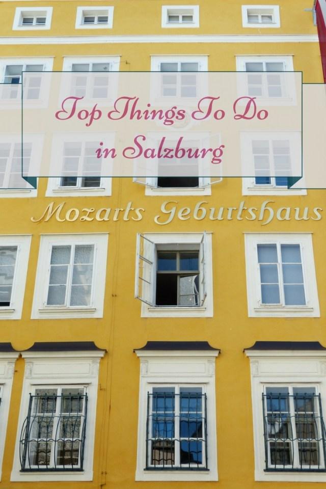 Mozarts Geburtshaus Salzburg Austria