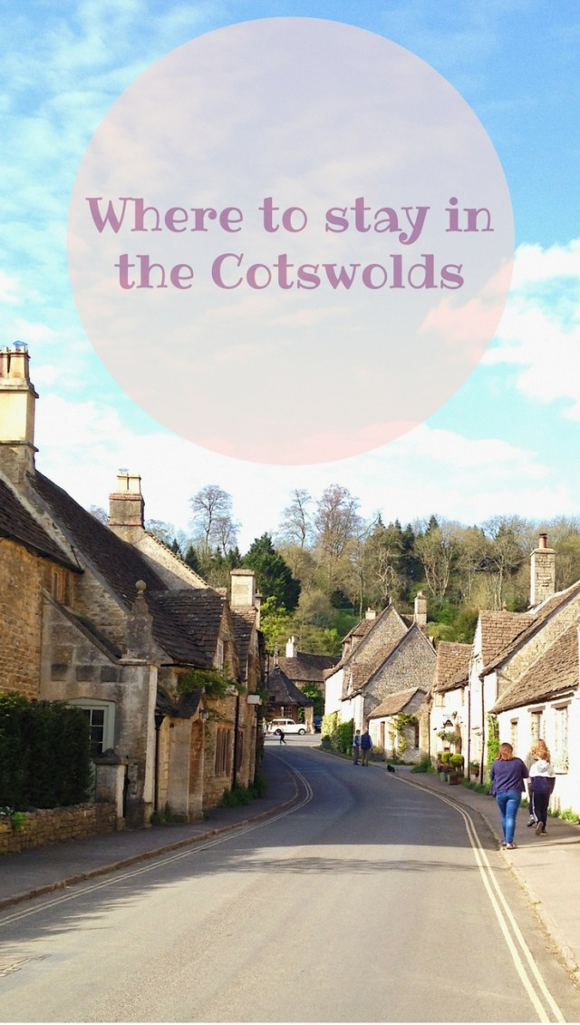 Where to stay in the Cotswolds.