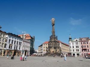 Sloup Nejsvětější Trojice, Olomouc