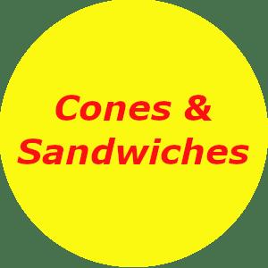 Cones & Sandwiches