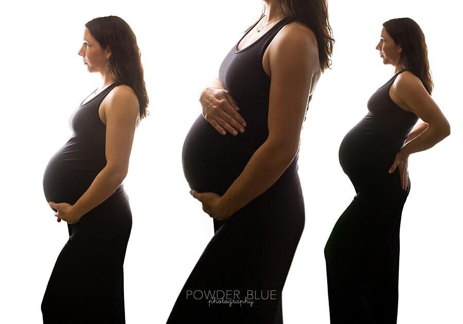maternity composite portrait
