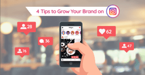 4 Tips to grow your brand on Instagram