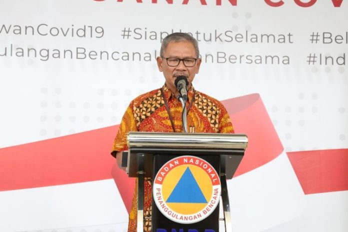 Juru bicara pemerintah untuk penanganan virus corona, Achmad Yurianto (f:ist/mistar)