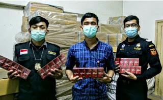 400 ribu batang rokok ilegal gagar edar