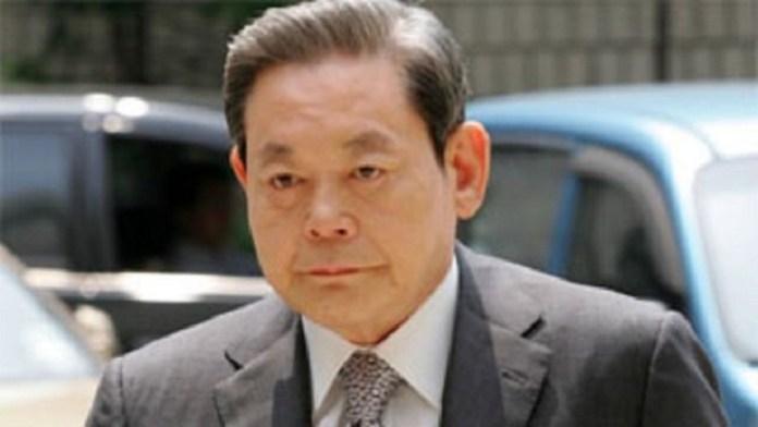 Pemimpin Samsung Lee Kun Hee Meninggal Dunia