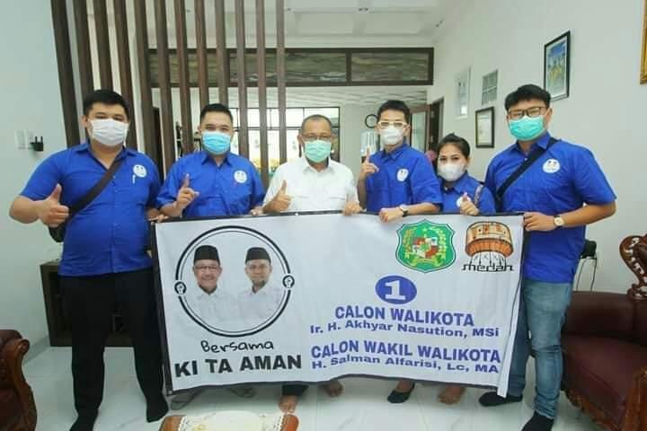 viral di medsos logo pemko medan dicantumkan dukung akhyar nasution harian mistar viral di medsos logo pemko medan