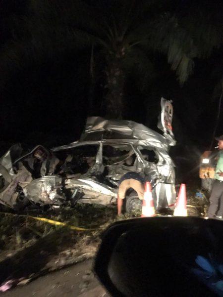 BRAKING NEWS: Kecelakaan Maut Bus Intra Kontra Avanza, 7 Orang Tewas di Tebing Tinggi