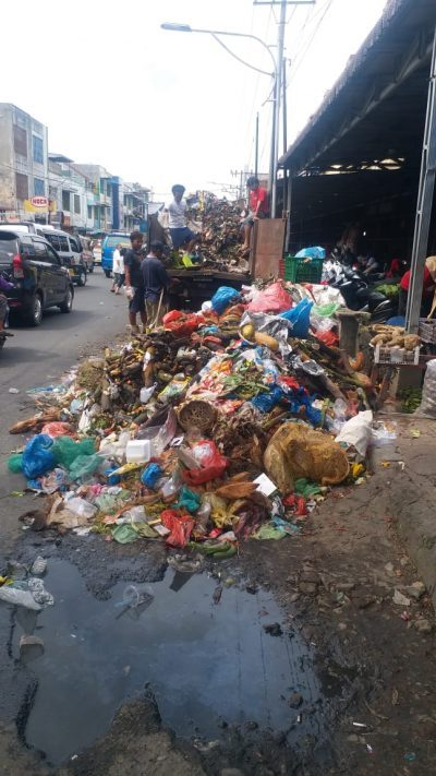 Sampah di Kawasan Pasar Horas Makin Menumpuk, Dirum PD PHJ: Sudah Diangkut
