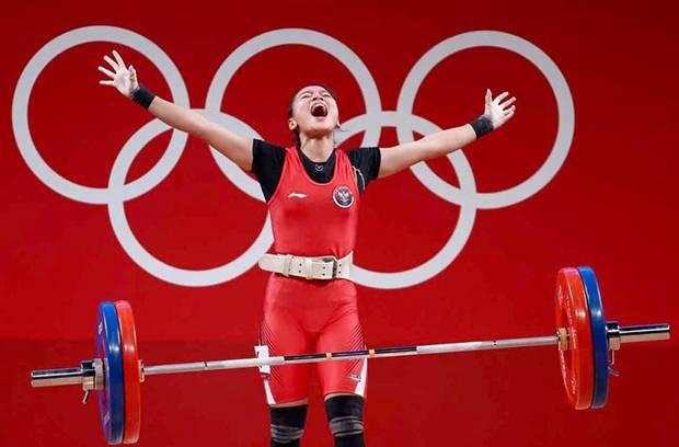 Windy Cantika Peraih Medali Pertama Indonesia di Olimpiade Tokyo 2020