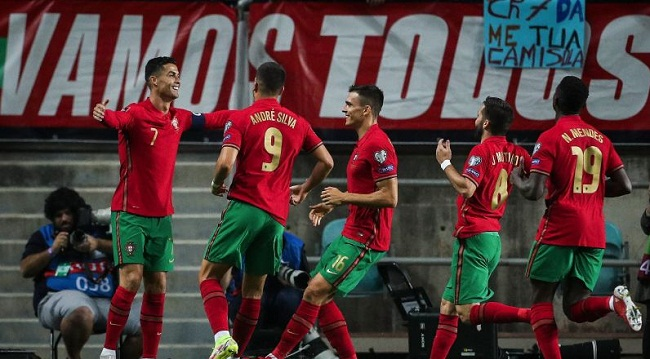 Ronaldo Cetak Trigol Saat Portugal Gilas Luksemburg 5-0