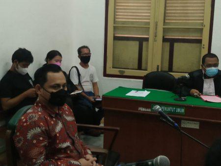 Aniaya Istri, Oknum Pejabat BPN Sumut Dituntut 1,5 Tahun Penjara