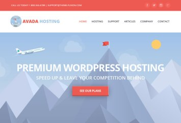Avada Hosting